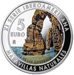 Foto de 2017 XI IBERORAMERICA 5 Euros MARAVILLAS NATURALES