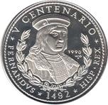 Foto de 1990 CUBA 10 Pesos REY FERNANDO