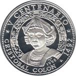 Foto de 1990 CUBA 10 Pesos CRISTOBAL COLON