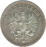 Foto de 1852 ALEMANIA 3 KREUZER FEDERICO GUILLERMO IV