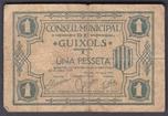 Foto de 1937 CM. GUIXOLS 1 PTA. Ord.Cat.14