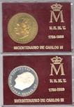 Foto de 1988 MED Cu-Ag BICENTENARIO CARLOS III