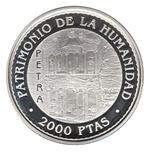 Foto de 1997 UNESCO 2000Pts TEMPLO PETRA PLATA