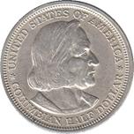 Foto de 1893 USA 1/2 DOLAR EXPO COLUMBIAN