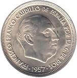 Foto de 1957*59 50 PTAS FRANCO