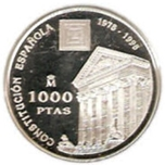 Foto de 1998 ESPAÑA 1000Pts CONSTITUCION