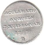 Foto de 1789 CARLOS IV MED.PROCLAMACION MADRID 1/2 REAL. Ord.Cat.10
