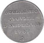 Foto de 1789 CARLOS IV MED.PROCLAMACION MADRID 1 REAL. Ord.Cat.11
