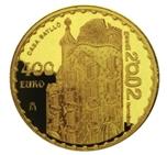 Foto de 2002 GAUDI 400 EUROS CASA BATLLO AU