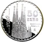 Foto de 2002 GAUDI 50 EUROS SAGRADA FAMILIA AG
