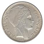 Foto de 1938 FRANCIA 20 FRANCOS