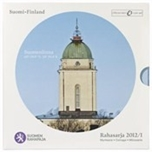 Foto de 2012 FINLANDIA SET EUROS 8p+MEDALLA