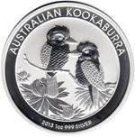 Foto de 2013 AUSTRALIA 1$ - 1 ONZA KOOKABURRA