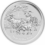 Foto de 2015 AUSTRALIA 1/2$ - 1/2 Oz AÑO de la CABRA