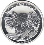 Foto de 2014 AUSTRALIA 1$ - 1 Oz KOALA