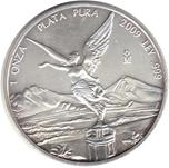 Foto de 2009 MEXICO 1$ LIBERTAD PLATA