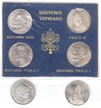Foto de VATICANO lote 6 medalles en plata diferentes. Ord.Cat.2