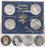 Foto de VATICANO lote 8 medallas plata diferentes. Ord.Cat.3