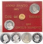 Foto de VATICANO lote 6 medalla plata diferentes. Ord.Cat.4