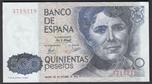 Foto de 1979/10/23 JUAN CARLOS I 500 PESETAS SIN SERIE. Ord.Cat.145