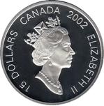 Foto de 2002 CANADA 15$ CABALLO AU+AG