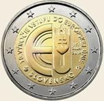 Foto de 2014 ESLOVAQUIA 2 EUROS X Aniv. ENTRADA U.E