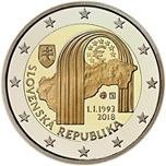 Foto de 2018 ESLOVAQUIA 2 EUROS REPUBLICA