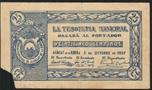 Foto de 1937 TRESORERIA MUNICIPAL DE ALBALAT 25 CMTOS. Ord.Cat.1
