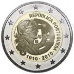 Foto de 2010 PORTUGAL 2 EUROS CENT. REPUBLICA