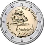 Foto de 2015 PORTUGAL 2 EUROS TIMOR