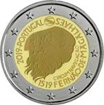 Foto de 2019 PORTUGAL 2 EUROS MAGALLANES