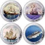 Foto de 2019 HISTORIA NAVEGACION 1 1/2 EUROS - 4 piezas - 3ª ENTREGA