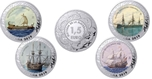 Foto de 2019 HISTORIA NAVEGACION 1 1/2 EUROS - 4 piezas