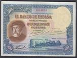 Foto de 1935/01/07 II REPUBLICA 500 PESETAS