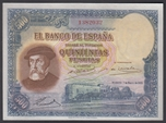 Foto de 1935/01/07 II REPUBLICA 500 PESETAS. Ord.Cat.22