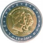 Foto de 2005 LUXEMBURGO 2 EUROS DUQUES HENRI Y ADOLPHE