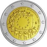 Foto de 2015 GRECIA 2 EUROS BANDERA EUROPEA