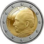 Foto de 2017 GRECIA 2 EUROS NIKOS KAZANTZAKIS