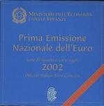 Foto de 2002 ITALIA SET EUROS 8p.