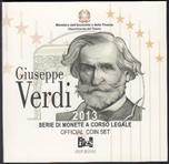 Foto de 2013 ITALIA SET 8p+ 2 Euros VERDI