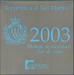 Foto de 2003 SAN MARINO SET OFICIAL EUROS
