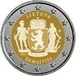 Foto de 2019 LITUANIA 2 EUROS SAMOGITIA