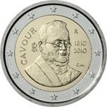 Foto de 2010 ITALIA 2 EUROS CONDE CAVOUR