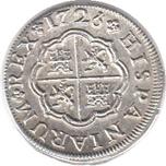 Foto de 1726 FELIPE V 1 REAL SEVILLA J