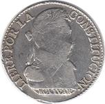 Foto de 1830 BOLIVIA 4 SOLES POTOSI JL