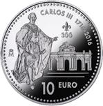 Foto de 2016 10 EUROS CARLOS III