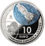 Foto de 2019 10 EUROS LLEGADA HOMBRE A LA LUNA