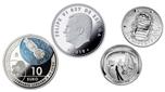 Foto de 2019 10 EUROS + 1/2 DOLAR LLEGADA HOMBRE A LA LUNA