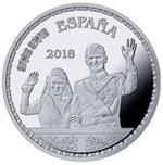 Foto de 2018 50 Aniv. S.M EL REY 10 EUROS BODA REAL
