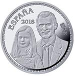 Foto de 2018 50 Aniv. S.M EL REY 10 EUROS REY Y PRINCESA